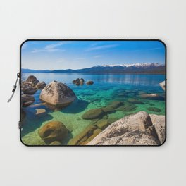 Let's Jump In At Sand Harbor, Lake Tahoe Laptop Sleeve