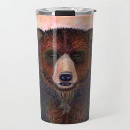 Blissed Out Bear Travel Mug