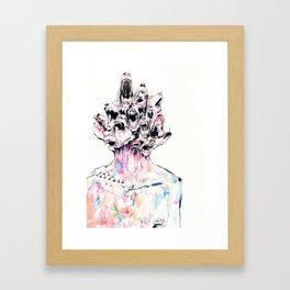 We need to talk Framed Art Print