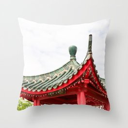 Chinatown Chicago #3 Throw Pillow