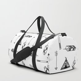 Pattern: Indian icon Duffle Bag