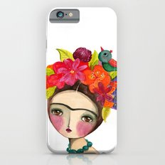Frida And The Bird In Her Hair Slim Case iPhone 6s