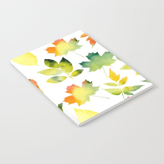 Leaf fall Notebook