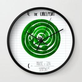 4.Circlpent Wall Clock