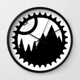 MTB logo Wall Clock
