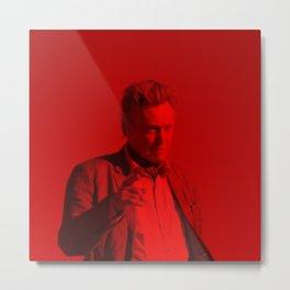 Christopher Walken - Celebrity (Photographic Art) Metal Print