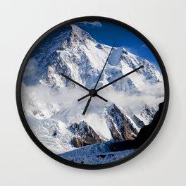 MX Mountain Wall Clock