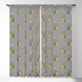 White Faced Cockatiel Blackout Curtain