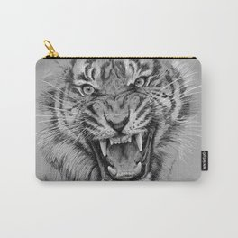 Tiger Portrait Animal Design Carry-All Pouch