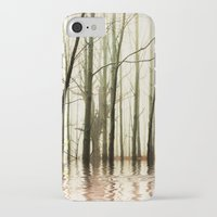 ghost iPhone & iPod Cases featuring GHOST TREES by Catspaws