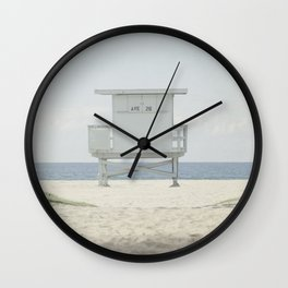 Path to the Lifeguard Stand Wall Clock