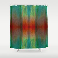 trout Shower Curtains featuring Cliffs of Ecstasy by Jeffrey J. Irwin