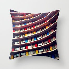 Day Forty-One: Primary Wave Throw Pillow
