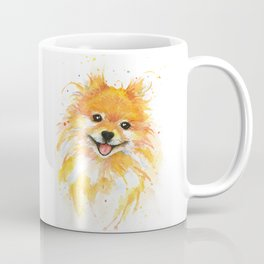 Happy Pomeranian Coffee Mug