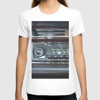 mercedes T-shirts featuring Vintage Radio Becker Europa by Premium