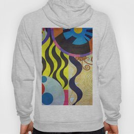 Abstrat composition 416 Hoody