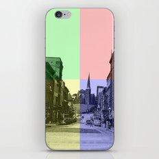 Baltimore St., Cumberland, Md. iPhone & iPod Skin