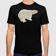 Climate change Mens Fitted Tee MEDIUM Black