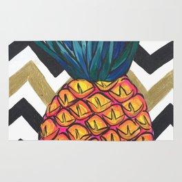 Pineapple Chevron Rug