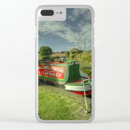 Stourport Bramble Clear iPhone Case