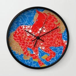 Iskra or Spark  Wall Clock