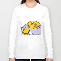 eat Long Sleeve T-shirts featuring Eat Eat by wof!