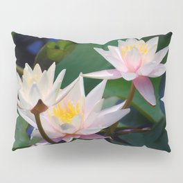 Water Lily neighbours and friends Pillow Sham