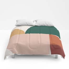 Abstract Geometric 11 Comforters