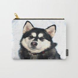 Kayla the Alaskan Malamute Carry-All Pouch
