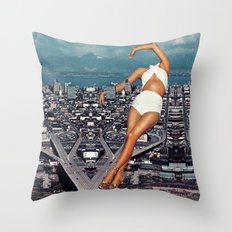 Urban D3 Throw Pillow