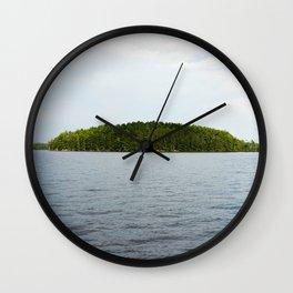 Minnesota Island Wall Clock