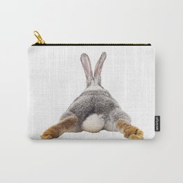 Cute Bunny Rabbit Tail Butt Image Easter Animal Carry-All Pouch