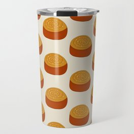 Cinnamon bun pattern Travel Mug