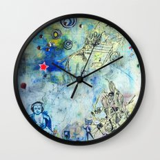 The Small World Experiment Wall Clock