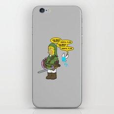 The Simpsons: Legend of Zel... er- D'OH! iPhone & iPod Skin