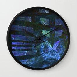 Schmetterling-Effekt Wall Clock