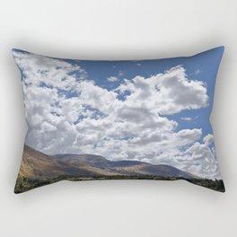 Typical landscape of the Serrania Rectangular Pillow