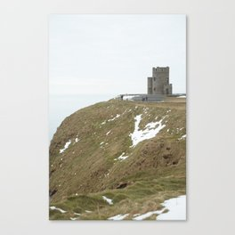 Castle on the Cliffs of Moher Canvas Print