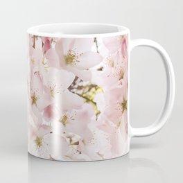 Botanical Spring Cherry Blossoms Coffee Mug