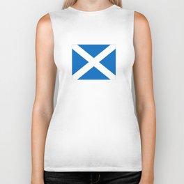 flag of scotland – scotland,scot,scottish,Glasgow,Edinburgh,Aberdeen,dundee,uk,cletic,celts,Gaelic Biker Tank