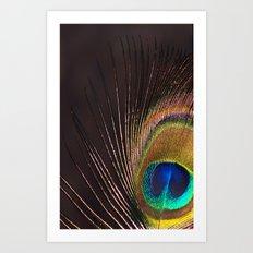 Silken Iridescence Art Print