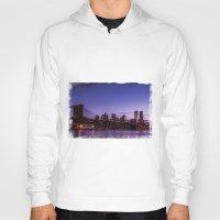 brooklyn bridge Hoodies featuring Brooklyn Bridge by hannes cmarits (hannes61)