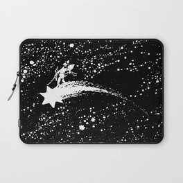 Riding the Comet Laptop Sleeve
