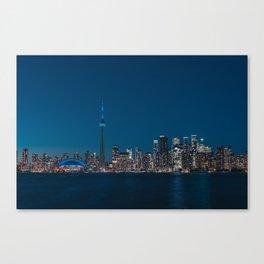 Toronto Blue Canvas Print