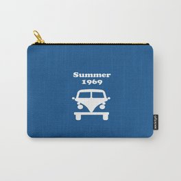 Summer 1969 - blue Carry-All Pouch