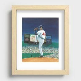 Growing Up Pedro cover Recessed Framed Print
