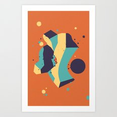 Lifeform #3 Art Print