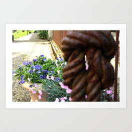 Knotted Art Print