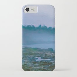 North Shore Fog iPhone Case