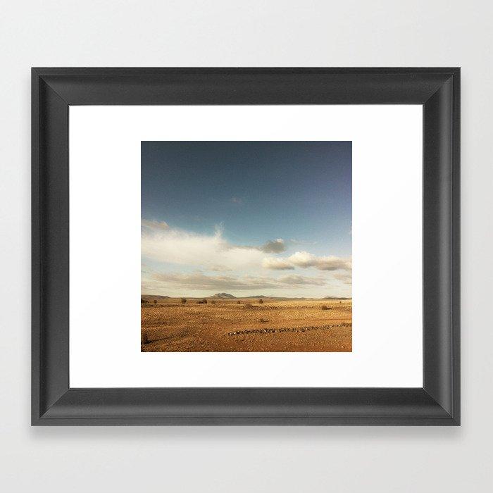 tumbleweeds Framed Art Print